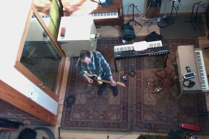 Recording Session, Austin, TX  Jan 8, 2011